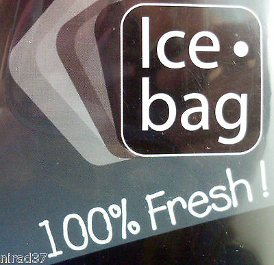 French Design CLEAR ICE BAG Gift WINE COOLER New & Sealed - In Australia 3