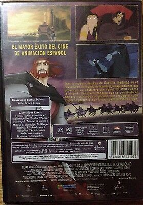EL CID La Leyenda (2 Dvd´s) Animacion Nuevo(GOYA 2004) 2
