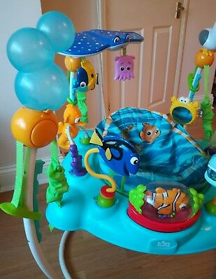 1cfbc40de FINDING NEMO JUMPEROO disney sea of activities bouncer baby toy ...