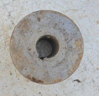 alt Welle Riemenscheibe Umlenkrolle dreifach Eisen Keilriemenscheibe 3 fach 5 kg 8