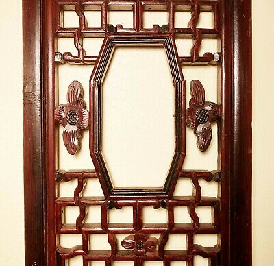 Antique Chinese Screen Panels (2968)(Pair), Cunninghamia Wood, Circa 1800-1849 9