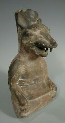 Pre Columbian Peru North Coast Moche Mochica Snarling Fox Vessel ca. 500 AD 12