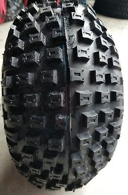 Two New 16//8.00-7 Deestone D929 Knobby ATV Tires 4ply 16 800 7 DS7311 168007