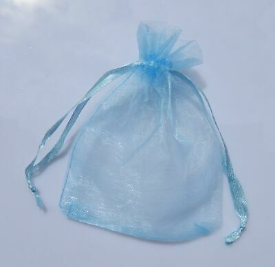 100 Luxury Organza Gift Bags Wedding Favour Chrisamas Jewellery Candy Pouches 3