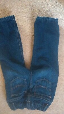 Little Girls Outfit Fleece Lined Warm Jeans Pink Top Gap Mothercare 2 Years 6