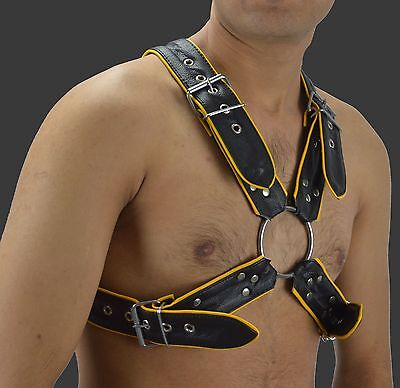 aw-6733 Leder harness mit Absätze lederharness/leather Harness,Körper Geschirr 4