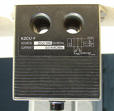 LOT SET of 2 Omron K2CU-F40A-E Heater Fault Detector Units with alarm f 4