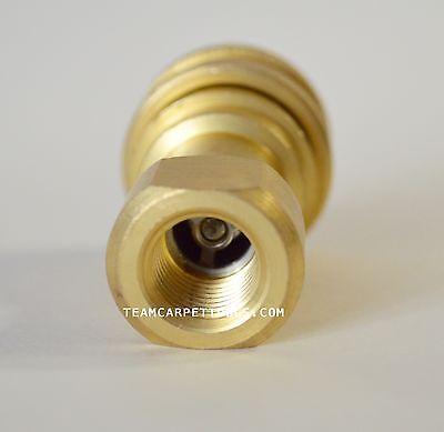 0.6cm Schnelle Verbindung / Trennen Sie für Teppich Reinigung Extraktoren