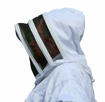 White Apiary Additions Beekeeping Bee Suit with Fencing Veil - All Sizes 4