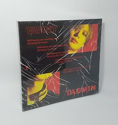 K-POP SHINEE TAEMIN 2nd Mini Album [WANT] MORE Ver. CD+Booklet+Photocard+Paper 2