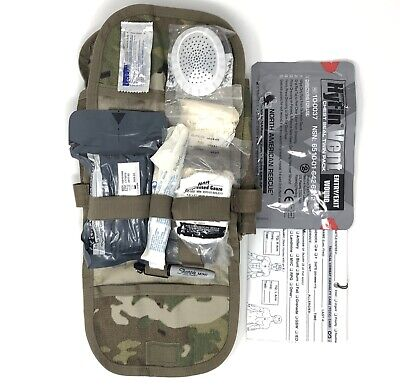 USGI IFAK II Military Individual First Aid Kit Medical Field Gear Complete Pack 2