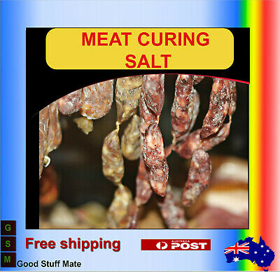 ORGANIC Salt Cure #1 Meat Pork Ham Beacon Prague Pink Curing Salt FREE FAST POST 3