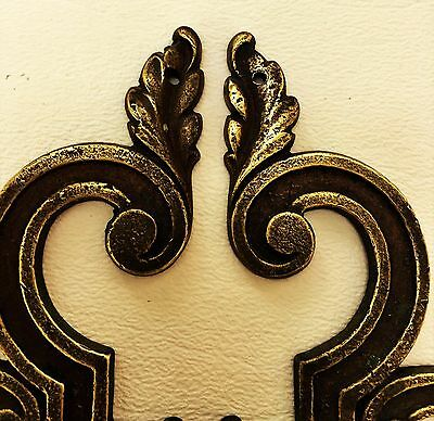 Mid Century Modern French Provincial hardware antique drawer pull Cabinet Knob 6