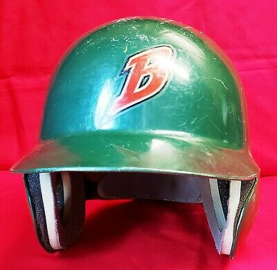 BUFFALO BISONS (Cleveland Indians) 1980's-1990's Game Used Batting Helmet by ABC 2