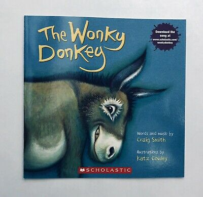 Lot 2 The Wonky Donkey + Dinky Donkey Childrens Book Bestselling World Famous! 2