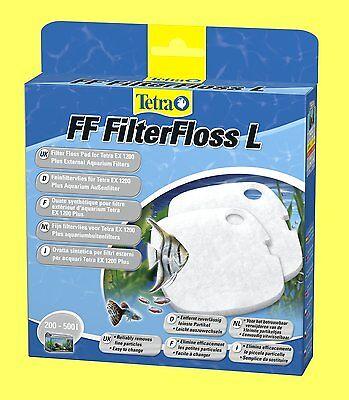2 pièce FF filterfloss L pour Tetra EX PLUS Filtre extérieur 1200 Floss