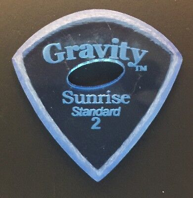 Gravity Picks Europe Classic Razer Sunrise Plectrum 8