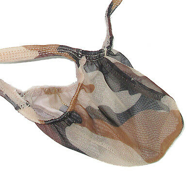 K403 PM String Thong Grape Smugglers Contoured Pouch Camo Printed C-thru Mesh