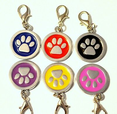 ENGRAVING Dog ID / Cat ID Name Tag Personalised Puppy Pet ID Tags UK 2