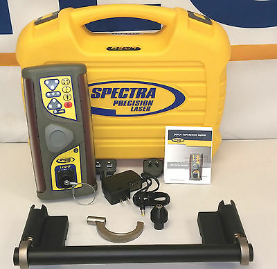 Spectra Precision LR20-1 Laser Receiver with Magnetic Mount MMM Plumb Indicator