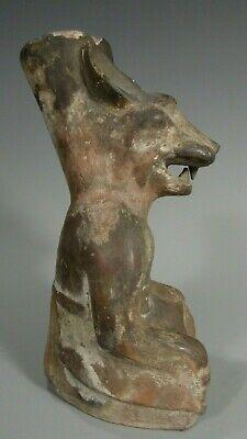 Pre Columbian Peru North Coast Moche Mochica Snarling Fox Vessel ca. 500 AD 3