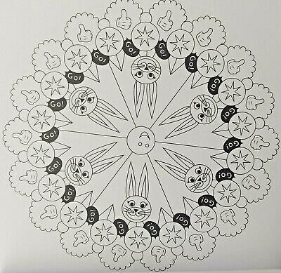 Kinder Mandala Malbuch At The Farm 24 Motive Ausmalen Malen Designs Spiel Spass Eur 4 90 Picclick De