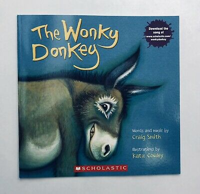 Lot 2 The Wonky Donkey + Dinky Donkey Childrens Book Bestselling World Famous! 8