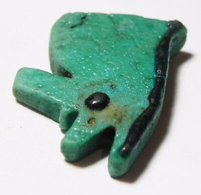 ZURQIEH -asw172- ANCIENT EGYPT , STUNNING COLOR. LARGE EYE OF HORUS AMULET 3