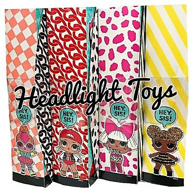 "1 LOL Surprise OMG NEONLICIOUS 10"" Fashion Doll Neon QT Holiday Winter Disco 12"