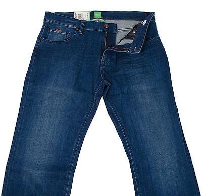 HUGO BOSS MAINE 2 50295766 MENS REGULAR FIT STRETCH BLUE JEANS PANTS MULTISIZE