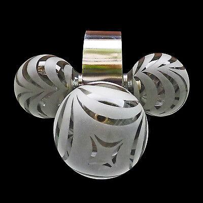 Vintage Mid-Century Italian Chrome Atomic Space Age Sputnik Orbit Chandelier 7