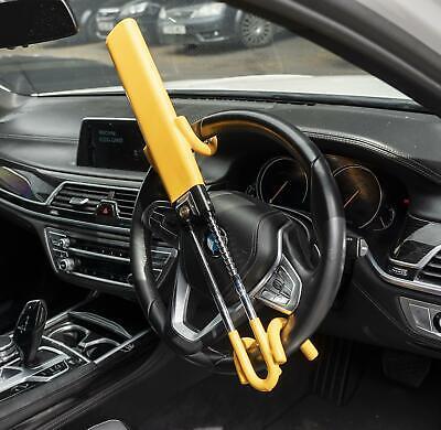 Heavy Duty Steering Wheel Lock High Security Anti Theft Twin Bar Hook for BMW 7
