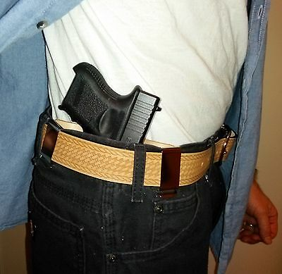 """S/&W 1911 Holster for SW1911 3"""" 4.25"""" 5"""" Inside the Waistband Leather Holster USA"""