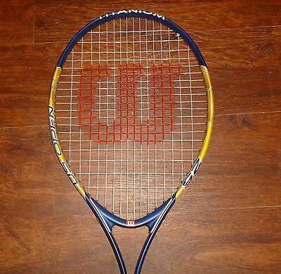 ... Wilson US Open 25 Titanium Junior Youth Tennis Racquet with 3 7 8
