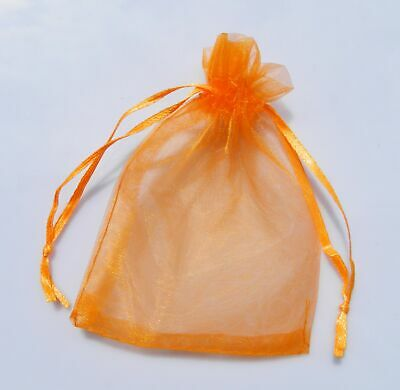 100 Luxury Organza Gift Bags Wedding Favour Chrisamas Jewellery Candy Pouches 5