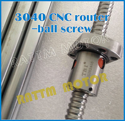 3040 300W Spindle Ball Screw Desktop CNC Router Milling Engraving Machine Frame 11