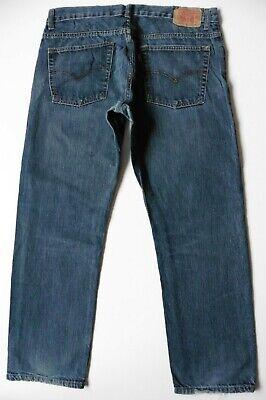 Boys' Men's Levis 505 Straight Leg Jeans W33 L28 Blue Levi Strauss Size 33S 3