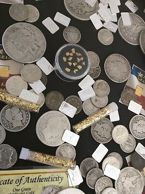 ⚡️Gold and Silver Estate Lot Sale! ✯ Old US Coins ✯ Bullion ✯ .999 Silver Bars⚡️ 2