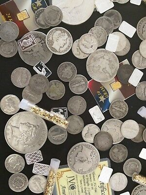 ⚡️Gold and Silver Estate Lot Sale! ✯ Old US Coins ✯ Bullion ✯ .999 Silver Bars⚡️ 5