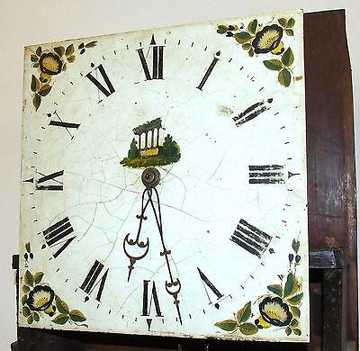 Early Petite Antique Oak Longcase Grandfather Clock 5