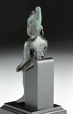 Egyptian Bronze Figure - Seated Harpocrates Lot 7