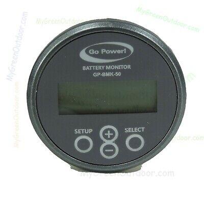 Go Power GP-BMK-50 Battery Ampere Consumption Monitor 12 & 24 Volt Batteries 2
