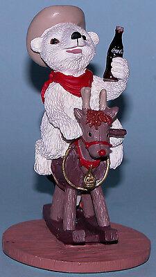 """Coca Cola Heritage Collection, Cavanaugh """"Ride 'em Cowboy"""" H72019 penguin, deer"""