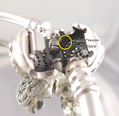 6f5eb6069 ... Disney BEAUTY AND THE BEAST Authentic PANDORA Bangle Bracelet 7.5