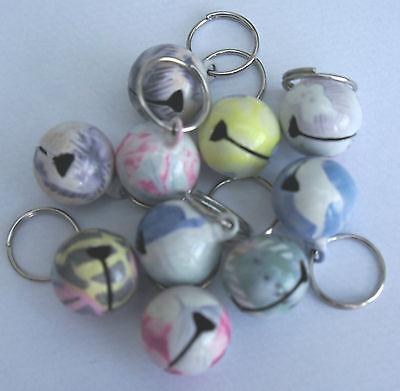 Loud Designer Coloured Cat Bells 6 Designs Available