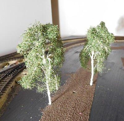 3 Birken, 120 mm hoch in Premium Qualität, jeder Baum ist ein Unikat 2