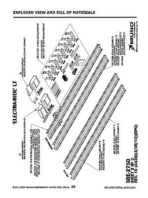 INSTALLATION MANUAL OPERATION MANUAL CD Bruno SRE 2750 Electra Ride LT