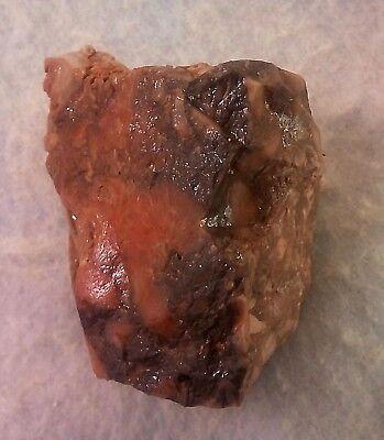 Stone-age Aex-Head Aex. Paleolithic period. Museum Level. Jordan Rift Valley