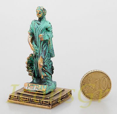 Ancient Greek Olympian God Miniature Sculpture Statue Zamac Hera Queen Of Gods 2