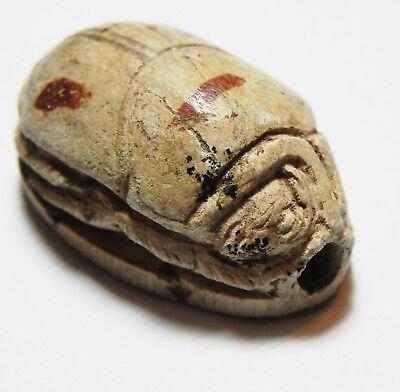 Zurqieh -As10290- Ancient Egypt, Stone Scarab . New Kingdom. 1300 B.c 3